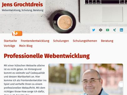 Screenshot of https://grochtdreis.de/